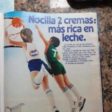 Coleccionismo de Revistas y Periódicos: ANUNCIO NOCILLA. Lote 228221320