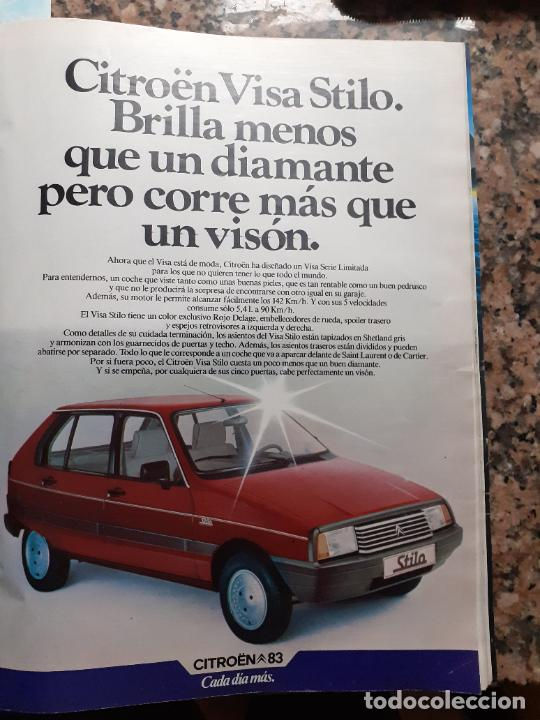 ANUNCIO CITROEN 83 VISA STILO (Coleccionismo - Revistas y Periódicos Modernos (a partir de 1.940) - Otros)