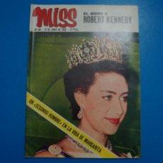 Collectionnisme de Revues et Journaux: REVISTA MISS LOS BEATLES JAIME OSTOS HENRY FONDA MISS NACIONAL 1967 YOLANDA LEGARRETA PERRY Nº 64 L1. Lote 228434510