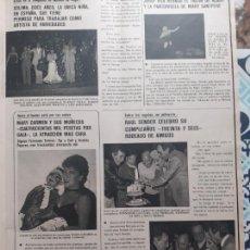 Coleccionismo de Revistas y Periódicos: MARY CARMEN Y SUS MUÑECOS SOLIMA LINA MORGAN RAUL SENDER MARY SANTPERE JORDI VILA PACO MORAN BLANCA. Lote 278639778