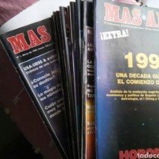 Coleccionismo de Revistas y Periódicos: LOTE DE DOCE FASCÍCULOS DE MÁS ALLÁ. Lote 228557775