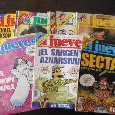 Colecionismo de Revistas e Jornais: LOTE DE 25 REVISTAS EL JUEVES. Lote 228736550
