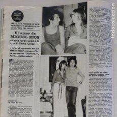 Coleccionismo de Revistas y Periódicos: RECORTE CLIPPING DE MIGUEL RIOS REVISTA SEMANA Nº 1680 PAG. 32 L17. Lote 229042710