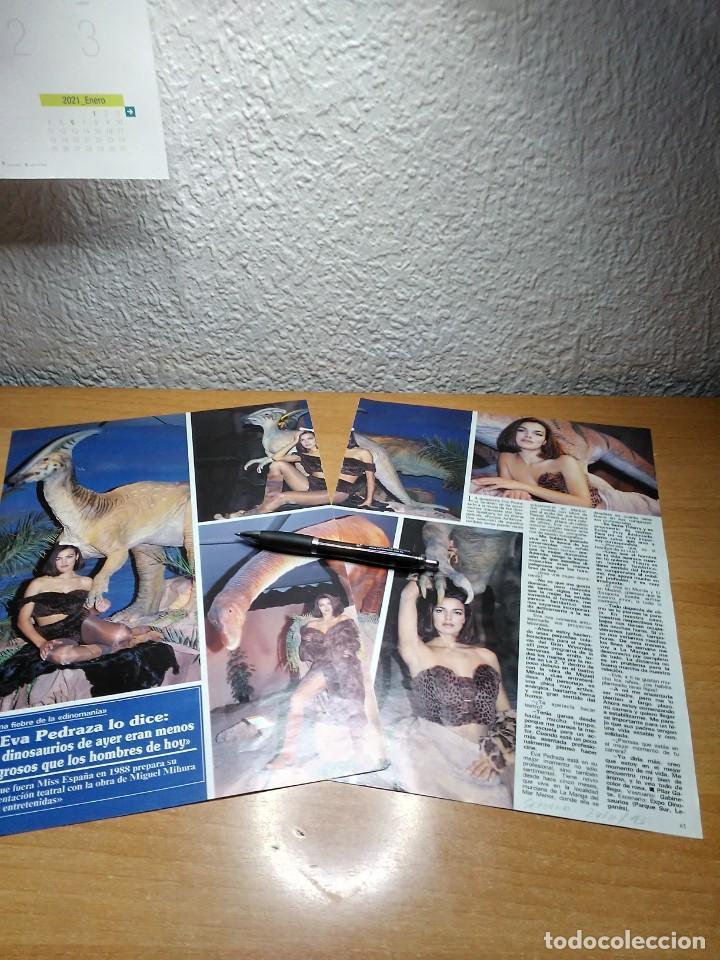 EVA PEDRAZA SEMANA 24/11/93 (Coleccionismo - Revistas y Periódicos Modernos (a partir de 1.940) - Otros)