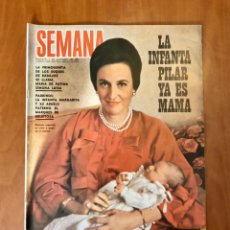 Colecionismo de Revistas e Jornais: REVISTA SEMANA, NUMERO 1499, 9 DE NOVIEMBRE DE 1968, (SEMANA.S.L.). Lote 229267130
