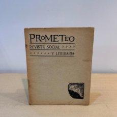 Coleccionismo de Revistas y Periódicos: RAMON GOMEZ DE LA SERNA / REVISTA PROMETEO / Nº 22 / 1910 / EL LIBRO MUDO / JUAN RAMON JIMENEZ. Lote 230067860