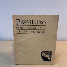 Coleccionismo de Revistas y Periódicos: RAMON GOMEZ DE LA SERNA / REVISTA PROMETEO / Nº 23 / 1910 / EL LIBRO MUDO / JUAN RAMON JIMENEZ. Lote 230068190
