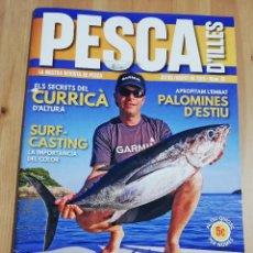 Coleccionismo de Revistas y Periódicos: PESCA D'ILLES. LA NOSTRA REVISTA DE PESCA (JULIOL / AGOST DE 2019, Nº 61). Lote 230221235