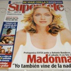 Coleccionismo de Revistas y Periódicos: REVISTA SUPERTELE NÚMERO 435 MADONNA. Lote 230254125