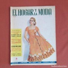 Colecionismo de Revistas e Jornais: REVISTAS EL HOGAR Y LA MODA. 1957. Lote 230905425
