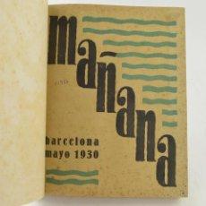 Coleccionismo de Revistas y Periódicos: MAÑANA, REVISTA OBRERA, 1930 - 1931, 8 NÚMEROS, COMPLETA. VER FOTOS ANEXAS.. Lote 231325695