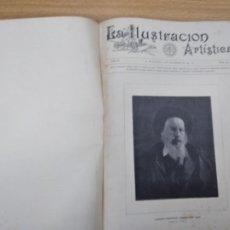 Coleccionismo de Revistas y Periódicos: LA ILUSTRACION ARTISTICA DEL Nº 464 AL 470. 1890. LA ILUSTRACION IBERICA DEL Nº 439, 472,489. 1891. Lote 231448170