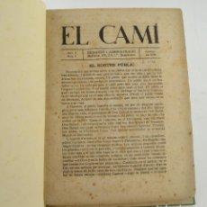 Coleccionismo de Revistas y Periódicos: RECOPILATORIO DE REVISTAS EL CAMÍ, POLIMNIA, IDEARI, EL GUAITA, 1918, 1919, 1929, 1924. VER FOTOS.. Lote 231466655