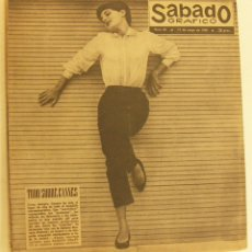 Coleccionismo de Revistas y Periódicos: REVISTA SÁBADO GRÁFICO Nº 85 - 17 MAYO 1958. Lote 231527755