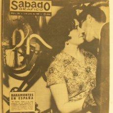 Coleccionismo de Revistas y Periódicos: REVISTA SÁBADO GRÁFICO Nº 196 FEDERICO MARTÍN BAHAMONTES CATERINA VALIENTE. Lote 231530155