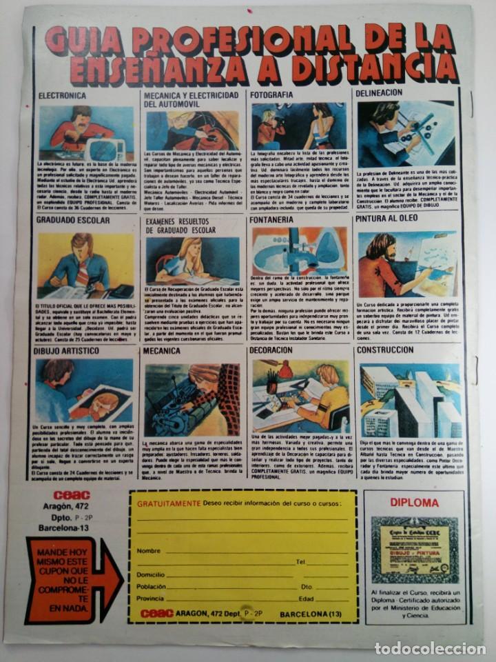 Coleccionismo de Revistas y Periódicos: PARTY Nº 39 - DEL 9 AL 15 DE ENERO 1978 (SIN USAR, DE DISTRIBUIDORA) - Foto 2 - 253575925