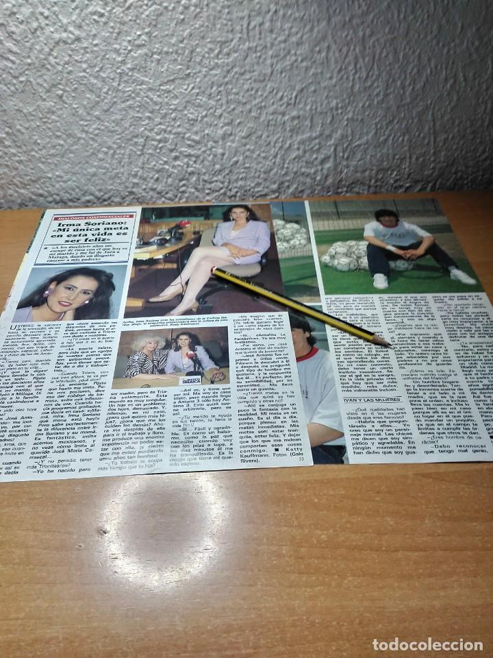 IRMA SORIANO . IVAN ZAMORANO . SEMANA 25.8.93 (Coleccionismo - Revistas y Periódicos Modernos (a partir de 1.940) - Otros)