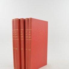 Coleccionismo de Revistas y Periódicos: LO GAY SABER: PERIODICH LITERARI QUINZENAL, AÑOS 1878, 1879, 1880, 1881, 1882, 6 TOMOS. 27X18CM. Lote 232121685