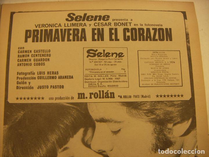 Coleccionismo de Revistas y Periódicos: FOTONOVELA SELENE PRIMAVERA EN EL CORAZON - Foto 2 - 232191860