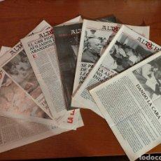 Coleccionismo de Revistas y Periódicos: 8 NÚMEROS DE LA REVISTA ALDERDI (PNV / EHU) 1986. Lote 232369450