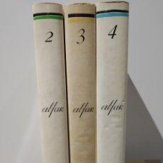 Coleccionismo de Revistas y Periódicos: ALFAR. REVISTA DE CASA AMÉRICA-GALICIA. EDICIÓN FACSÍMIL. CÉSAR ANTONIO MOLINA. TOMOS 2, 3 Y 4. NOS. Lote 232443550
