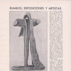 Coleccionismo de Revistas y Periódicos: * ARTE * OBRAS DE ALBERTO, BENJAMÍN PALENCIA, SÁNCHEZ COUTO, SÁNCHEZ COUTO...- 1931. Lote 232734760