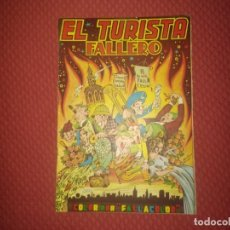 Coleccionismo de Revistas y Periódicos: EL TURISTA FALLERO 1956 REVISTA FALLAS DE VALENCIA + PLANO. Lote 232735060
