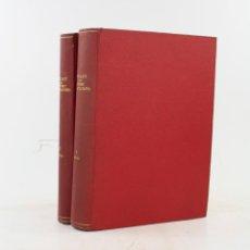 Coleccionismo de Revistas y Periódicos: BUTLLETÍ DE L'ATENEU BARCELONÈS, 2 TOMOS, DEL 1915 AL 1920, BARCELONA. 27X21CM. Lote 233078485