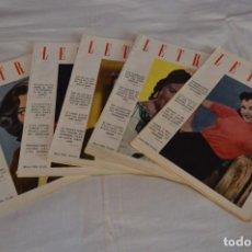 Coleccionismo de Revistas y Periódicos: AÑOS 50 / 5 REVISTAS -- LETRAS -- LA REVISTA DEL HOGAR, 199/200/201/202/203 - ¡MIRA! LOTE 08. Lote 233094660