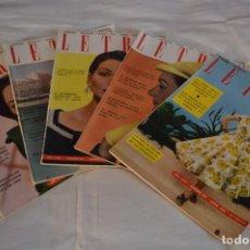 Coleccionismo de Revistas y Periódicos: AÑOS 50 - 5 REVISTAS -- LETRAS -- LA REVISTA DEL HOGAR - NÚM. 210/211/212/213/215 - ¡MIRA! LOTE 06. Lote 233095035