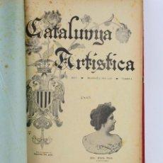 Coleccionismo de Revistas y Periódicos: REVISTA CATALUNYA ARTÍSTICA, AÑO 1900, 1 TOMO, BARCELONA.. Lote 233219045