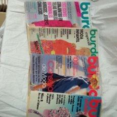 Coleccionismo de Revistas y Periódicos: 4 REVISTAS BURDA. Lote 233567265