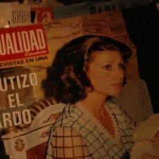 Coleccionismo de Revistas y Periódicos: GISCARD CARMEN MARTINEZ DESFILE MUNDIAL FUTBOL BENJAMIN PALENCIA PAQUIRRI 1974. Lote 233733570