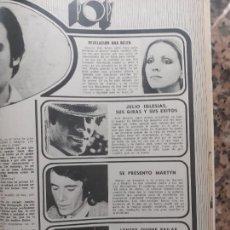 Coleccionismo de Revistas y Periódicos: LYNSEY ANA BELEN JULIO IGLESIAS MARTYN. Lote 234027105