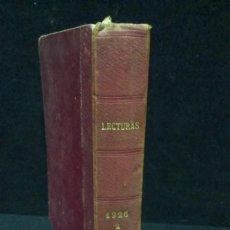 Collezionismo di Riviste e Giornali: REVISTA LECTURAS - 1926 - TOMO II. Lote 234038235