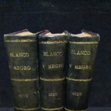 Collezionismo di Riviste e Giornali: REVISTA BLANCO Y NEGRO - 1926 - 3 TOMOS. Lote 234047435