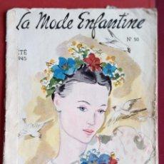 Coleccionismo de Revistas y Periódicos: REVISTA MODA. LA MODE ENFANTINE. Nº 50. W. Lote 234097075
