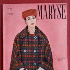 Coleccionismo de Revistas y Periódicos: REVISTA MODA. MARYSE Nº 44. W. Lote 234097265