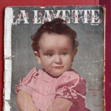 Coleccionismo de Revistas y Periódicos: REVISTA DE MODA LA LAVETTE. PARA BEBES. W. Lote 234100660
