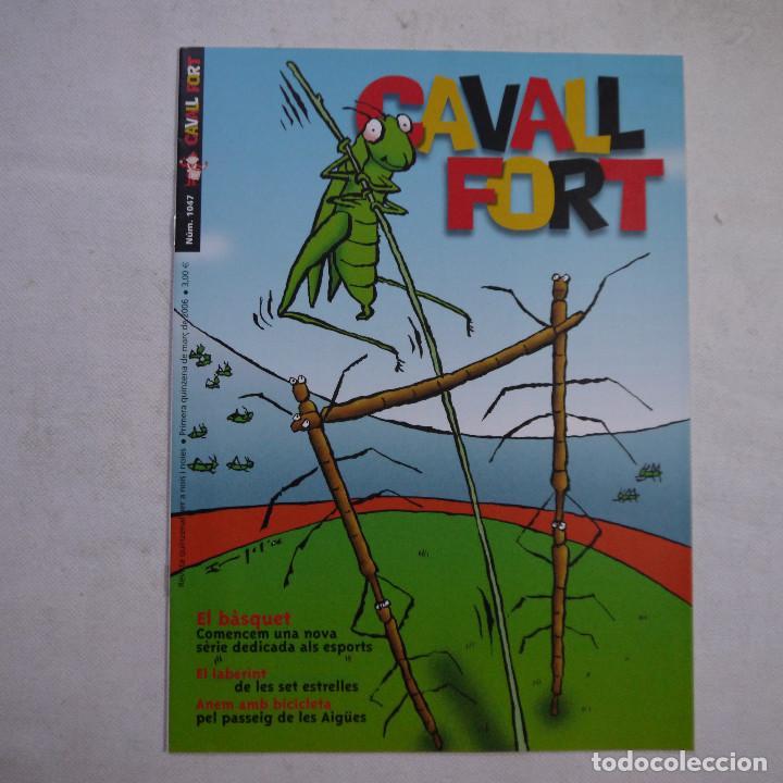 Coleccionismo de Revistas y Periódicos: LOTE 18 REVISTAS CAVALL FORT 2006 (AÑO CASI COMPLETO FALTAN 2 NÚMEROS EL 1044 y EL 1046) - Foto 3 - 234113740