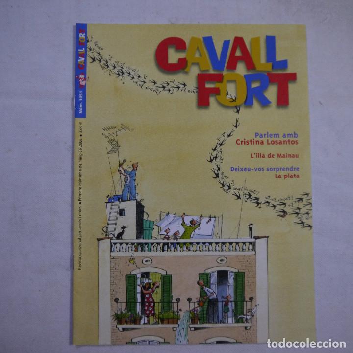 Coleccionismo de Revistas y Periódicos: LOTE 18 REVISTAS CAVALL FORT 2006 (AÑO CASI COMPLETO FALTAN 2 NÚMEROS EL 1044 y EL 1046) - Foto 6 - 234113740
