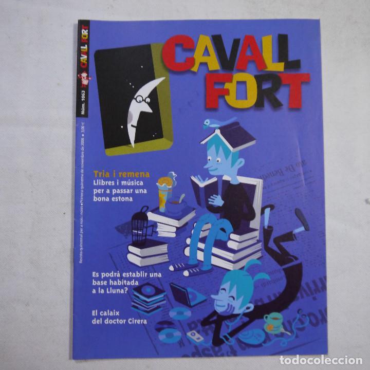 Coleccionismo de Revistas y Periódicos: LOTE 18 REVISTAS CAVALL FORT 2006 (AÑO CASI COMPLETO FALTAN 2 NÚMEROS EL 1044 y EL 1046) - Foto 18 - 234113740