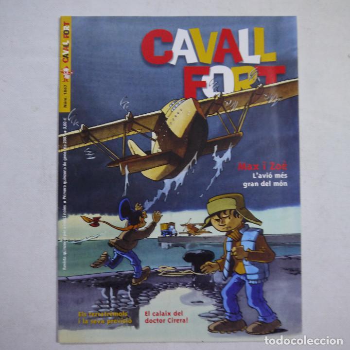 Coleccionismo de Revistas y Periódicos: LOTE 20 REVISTAS CAVALL FORT 2007 (AÑO CASI COMPLETO FALTA 1 NÚMERO EL 1077) - Foto 2 - 234115535