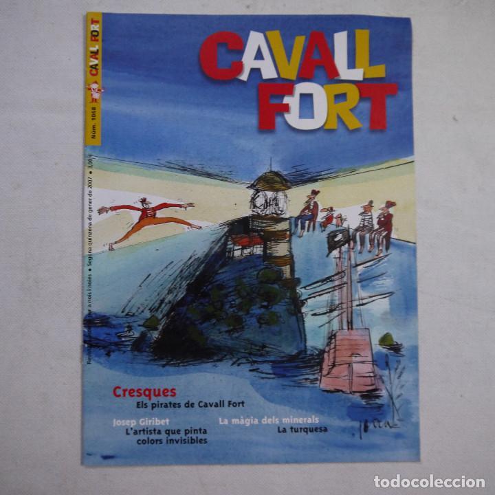 Coleccionismo de Revistas y Periódicos: LOTE 20 REVISTAS CAVALL FORT 2007 (AÑO CASI COMPLETO FALTA 1 NÚMERO EL 1077) - Foto 3 - 234115535
