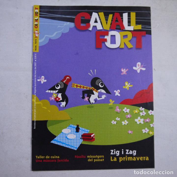 Coleccionismo de Revistas y Periódicos: LOTE 20 REVISTAS CAVALL FORT 2007 (AÑO CASI COMPLETO FALTA 1 NÚMERO EL 1077) - Foto 7 - 234115535