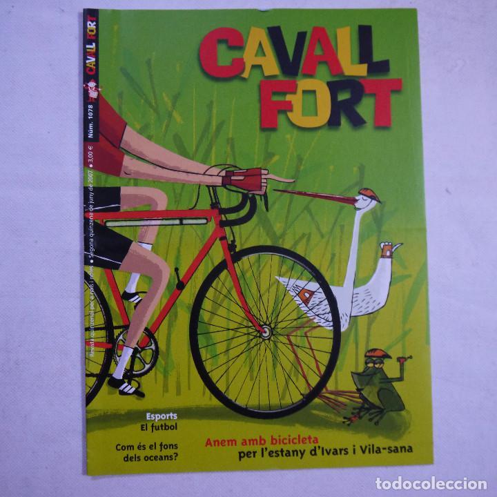 Coleccionismo de Revistas y Periódicos: LOTE 20 REVISTAS CAVALL FORT 2007 (AÑO CASI COMPLETO FALTA 1 NÚMERO EL 1077) - Foto 11 - 234115535