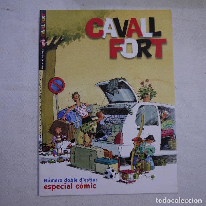 Coleccionismo de Revistas y Periódicos: LOTE 20 REVISTAS CAVALL FORT 2007 (AÑO CASI COMPLETO FALTA 1 NÚMERO EL 1077) - Foto 15 - 234115535