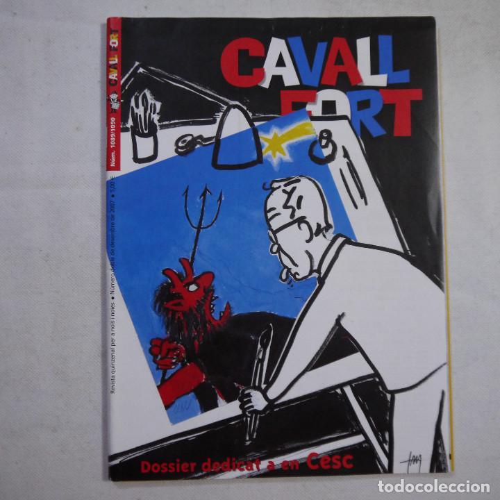 Coleccionismo de Revistas y Periódicos: LOTE 20 REVISTAS CAVALL FORT 2007 (AÑO CASI COMPLETO FALTA 1 NÚMERO EL 1077) - Foto 22 - 234115535