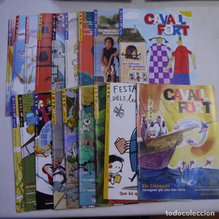 LOTE 18 REVISTAS CAVALL FORT 2008 (AÑO CASI COMPLETO FALTAN 3 NÚMEROS) (Coleccionismo - Revistas y Periódicos Modernos (a partir de 1.940) - Otros)