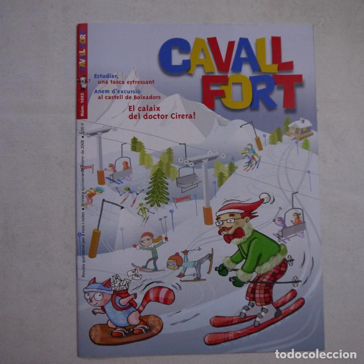 Coleccionismo de Revistas y Periódicos: LOTE 18 REVISTAS CAVALL FORT 2008 (AÑO CASI COMPLETO FALTAN 3 NÚMEROS) - Foto 4 - 234117090